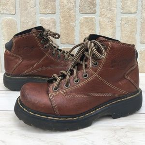 Dr. Marten's Lace Up Work Boots Grunge Size 7